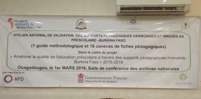 Atelier National de Validation des supports